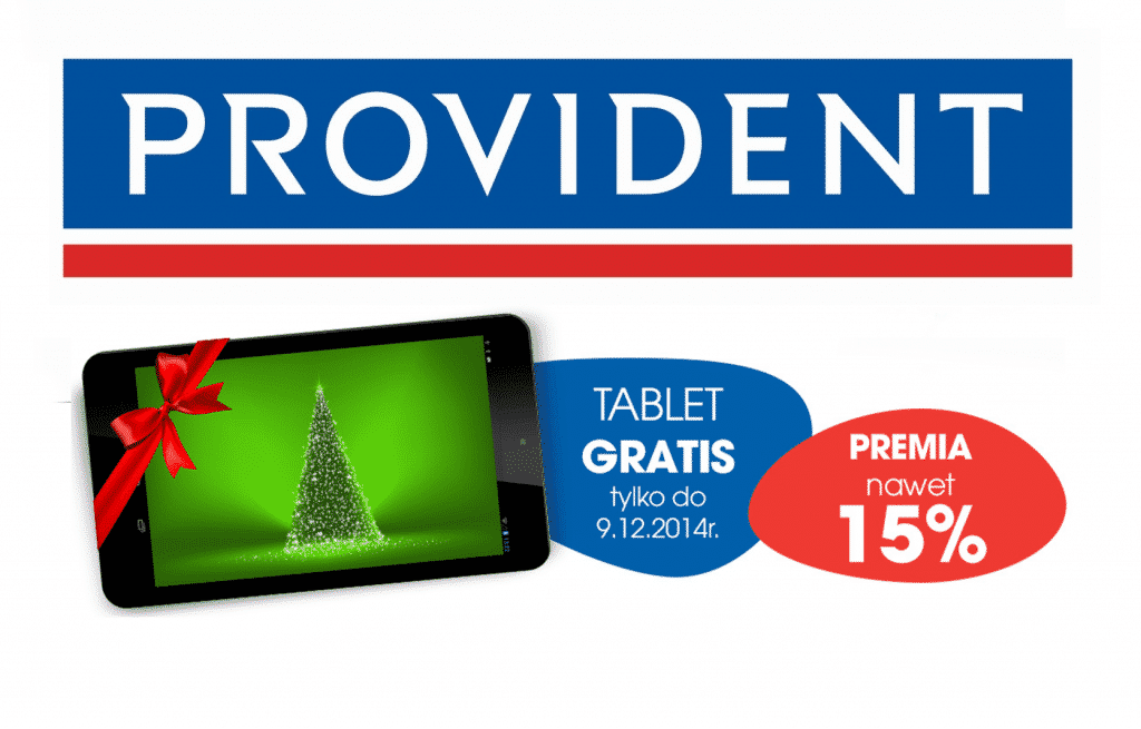 Promocja Złap Tablet w Provident