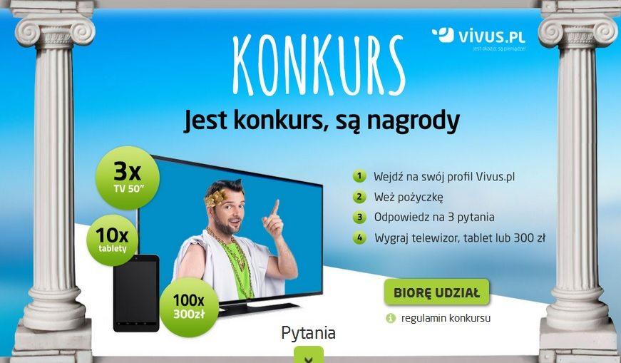 """""""Jest konkurs, są nagrody"""" - Vivus 05.2015 - zdjęcie nagród"""