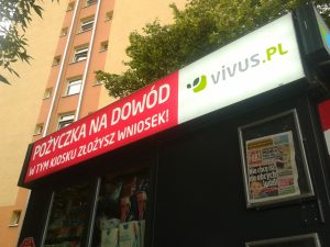 Kredyt od Vivusa dostępny w kioskach RUCHu