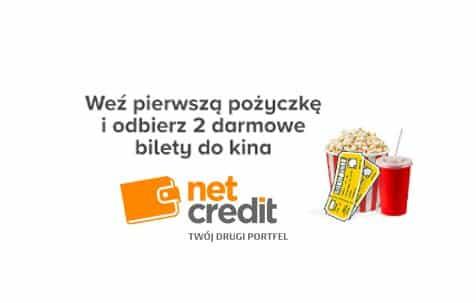 Bilety na seans Netcredit i Multikino