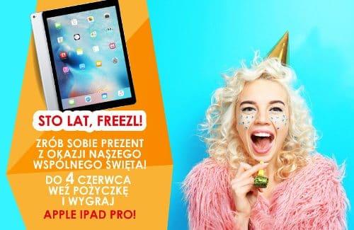 iPad pro do wygrania we freezl