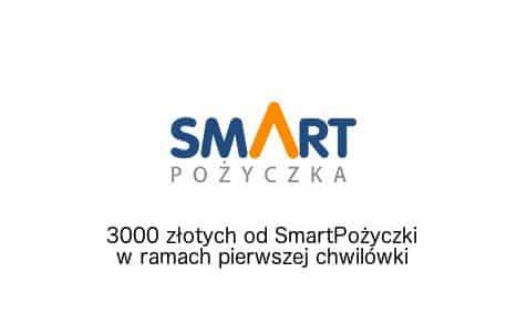 SmartPożyczka - 3000 złotych za darmo