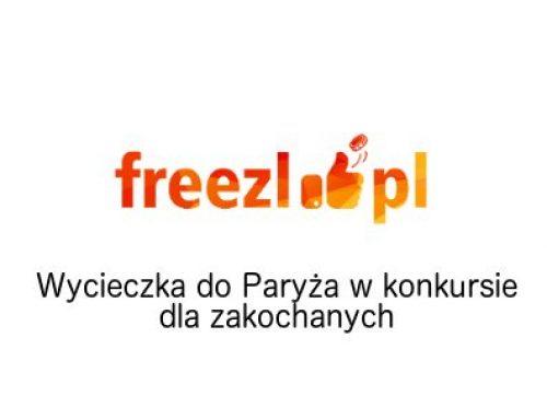 Freezl: Paryż czeka na zakochanych – konkurs