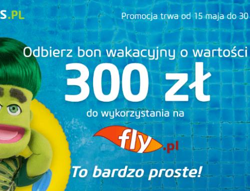Vivus: 300-złotowy voucher do Fly.pl