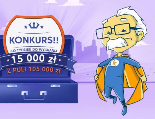 Kuki: co tydzień 15000 złotych + Hulajnogi w nowym konkursie