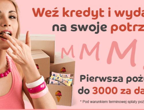 Credit.pl: Zniżka -35% na pożyczki i wyższa kwota dla nowych klientów i Wielkie ŁAŁ Vivusa