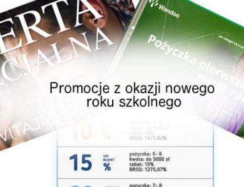Promocje na nowy rok szkolny 2018/19 –  LoanMe i inni