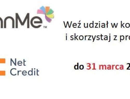 Konkurs w NetCredit i promocja dla lojalnych w LoanMe
