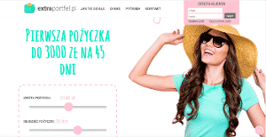 Podgląd strony Extraportfel.pl