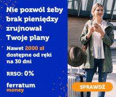 Ferratum - teraz chwilówka jednoratalna do 5000 zł