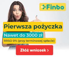 Chwilówki Finbo - RRSO 0%
