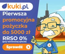 Kuki - pożyczka 5000 zł za darmo
