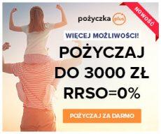 Pożyczkaplus.pl - chwilówka z Rzeczywistą Roczną Stopą Oprocentowania 0%