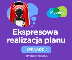 Provident - pożyczki ratalne i na 5 miesięcy za darmo