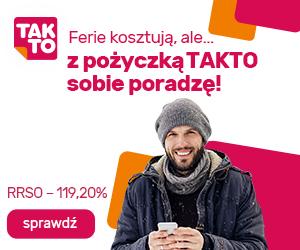 Takto Finanse - pożyczki na raty do 25000 złotych