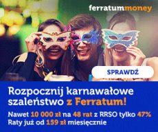 Ferratum - nowa oferta firmy - banner
