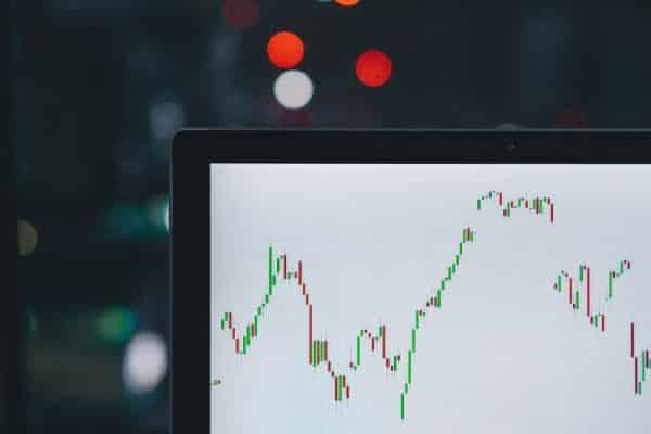 wahania kursów akcji
