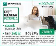 Kredyt Gotówkowy od BNP Paribas - banner