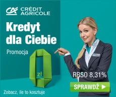 Credit Agricole - kredyt dla Ciebie - banner