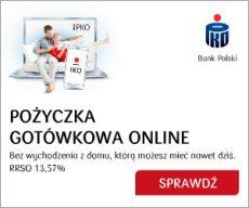 Pożyczka gotówkowa online - PKO BP - banner