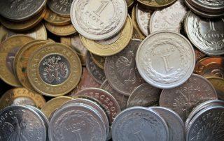 Monety z kredytu i pożyczki gotówkowej