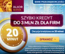 Alior Bank - kredyt firmowy banner