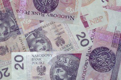 banknoty 20-złotowe - z pożyczki pozabankowej