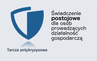 Świadczenie postojowe - tarcza antykryzysowa logo