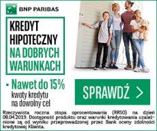 BNP Paribas - kredyt hipoteczny - banner 300x250