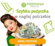 Finansowe Posiłki - pożyczka online - banner