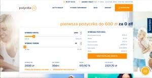 podgląd strony Pozyczkaplus.pl
