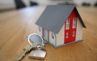 dom - klucze - kredyt hipoteczny