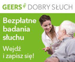 Geers - banner 300x250 - badanie słuchu dla seniorów