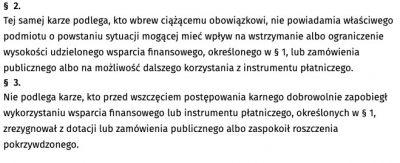 paragraf 2 i 3 art 297 Kodeksu karnego