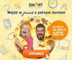 Smartpozyczkapl - darmowa chwilówka do 600 zł - banner jesień