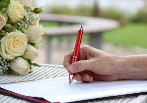 Podpis - umowa pożyczki rodzinnej