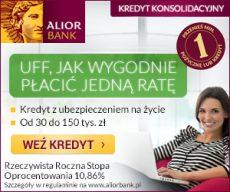 Alior Bank - konsolidacja kredytów - banner
