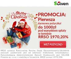 Solven banner z ofertą na Boże Narodzenie