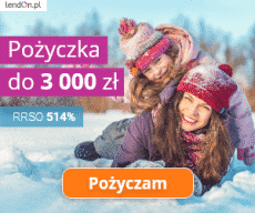 Lendon - pierwsza pożyczka do 3000 zł