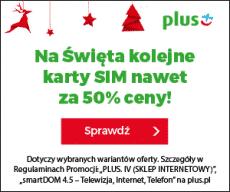 Plus banner - Święta - oferta Plus IV