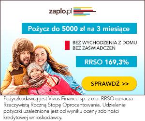 Zaplo.pl - pożyczki ratalne - banner na święta