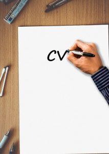 CV pisane ręką - prosty życiorys