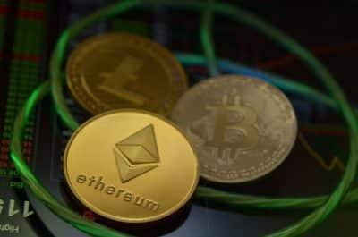 Kryptowaluty Ethereum, Litecoin i Bitcoin
