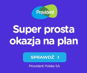Provident - banner - Super prosta okazja