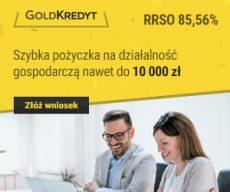 Goldkredyt - banner - kredyt firmowy