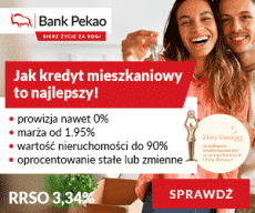 Kredyt hipoteczny - bank PEKAO - banner