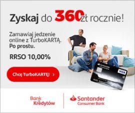 Santander 300x250 karta kredytowa banner
