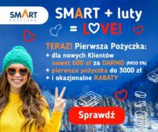 Smartpozyczkapl - darmowa chwilówka do 600 zł - banner Walentynki