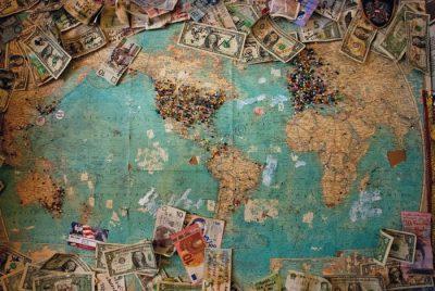 Wymiana walut online - złotówki, dolary, euro na mapie