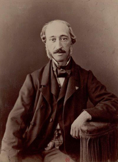 Alexandre Edmond Becquerel - portret